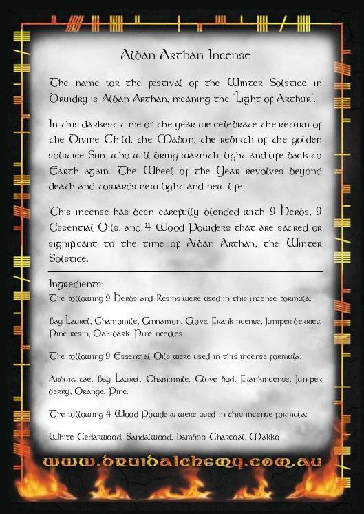 Alban Arthan Incense